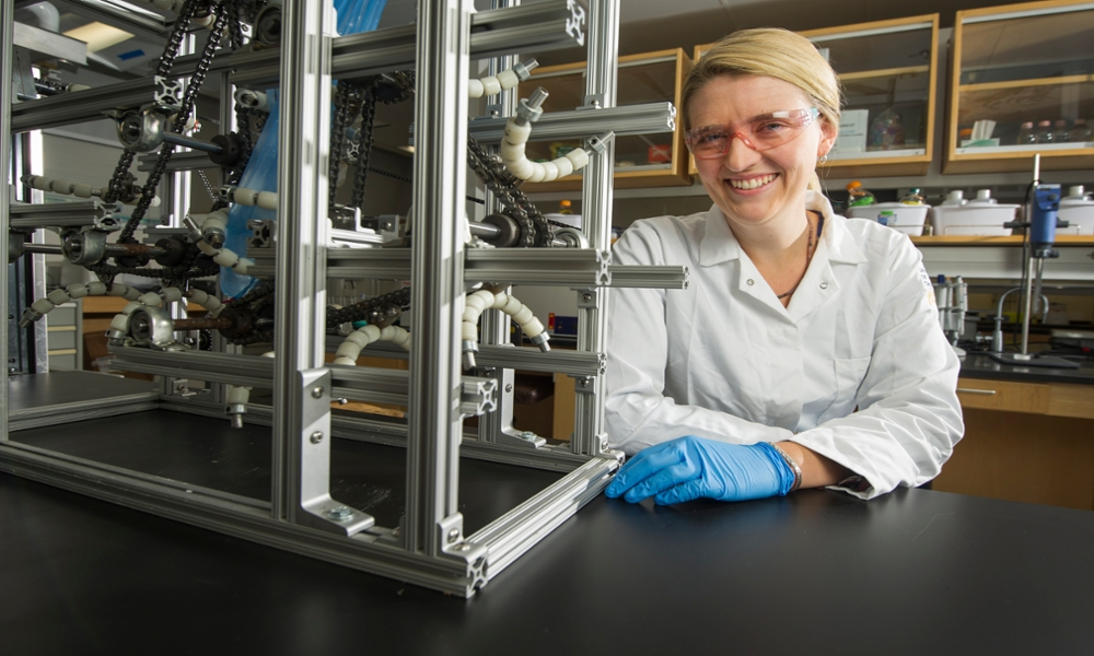 Food-science engineer Gail Bornhorst